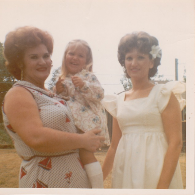 Me in the middle. I'm clearly very concerned about who is fat and who is not.