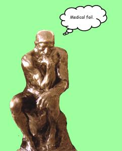 Thinker, by August Rodin