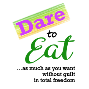Dare to EAT Logo with Text HALF size
